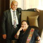 Vikram Kothari With His Wife Sadhna