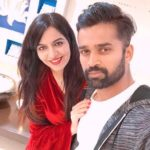 Vinay Kumar with his wife Richa Singh