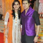 Vishal Malhotra with his wife Rashi Chopra