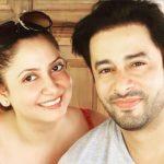 Zulfi Syed with wife