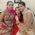 Aakriti Sharma with Sufi singers Nooran Sisters