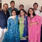 Adi Irani with his siblings
