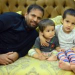 Afreen Khan Husband and Sons