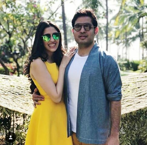Akash Ambani and Shloka Mehta first public appearance together