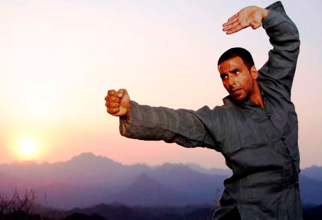 Akshay Kumar as Martial Arts Teacher