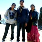 Akshdeep Nath parents and sister Shreya Nath