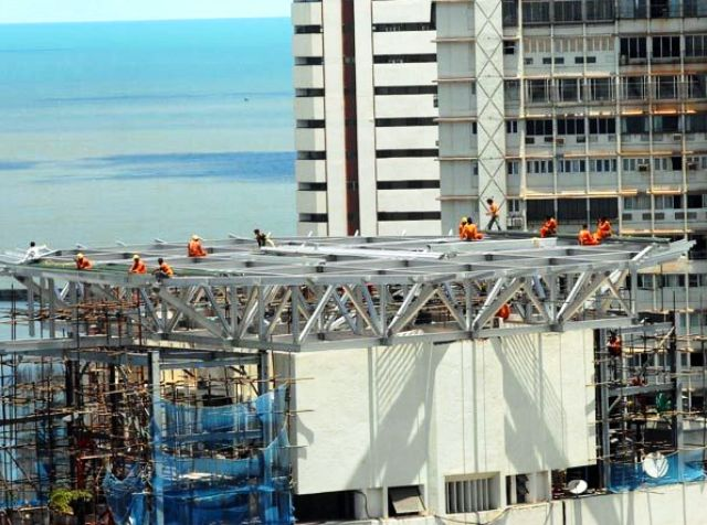 Anil Ambani House Under Construction