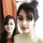 Aastha Gill with her sister Prerna Gill