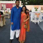 Ayesha Faridi With Her Husband Nakul Vengsarkar