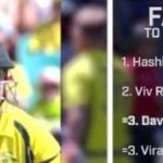 David Warner - 3rd fastest to reach 4000 runs