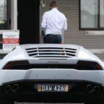 David Warner - Lamborghini Huracan
