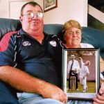 David Warner parents