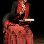Dilnaz Irani during theatre play