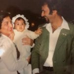 Dimple Sharma with her parents