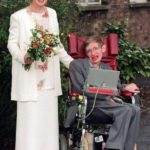 Elaine Mason and Stephen Hawking wedding pic