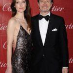 Gary Oldman With His Ex-Wife Alexandra Edenborough