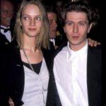 Gary Oldman With His Ex-Wife Uma Thurman