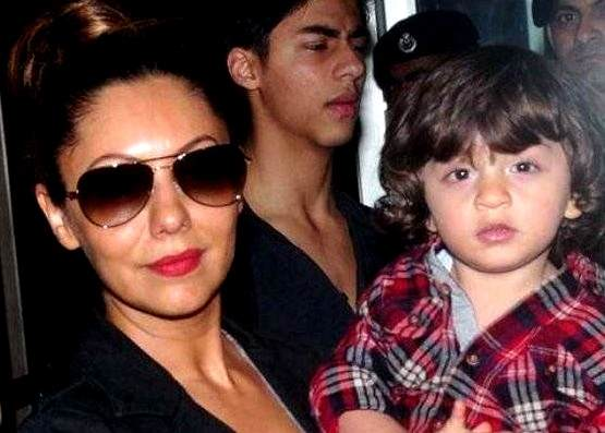 Gauri Khan With AbRam Khan