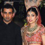 Gautam Gambhir and Natasha Jain marrriage pic