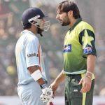 Gautam Gambhir and Shahid Afridi fight