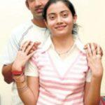 Gautam Gambhir with his sister Ekta