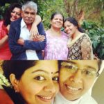 Gilu Joseph with her parents and sisters