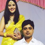 Griha Atul With Her Husband Kashif Siddiqui