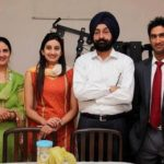 Gurkeerat Singh Mann with his family