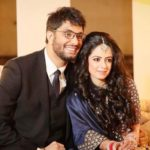 Gursimran Khamba with his wife Ismeet Kohli