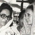 Hamida With Indira Gandhi