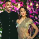 Hardik Pandya and Elli AvrRam