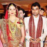 Hasin Jahan and Mohammed Shami marriage photo