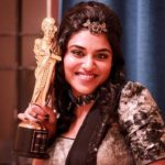 Indhuja received Ananda Vikatan Cinema Award for Best Supporting Actress