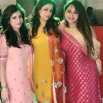 Jassi Kaur with her sisters