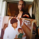 Jordan Peele (infant) With His Father