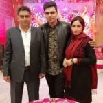 Kashish Thakur Pundir Parents