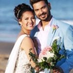 Keith Sequeira and Rochelle Rao marriage pic
