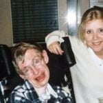 Lucy Hawking With Stephen Hawking