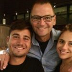 Marcus Stoinis With His Father And Sister