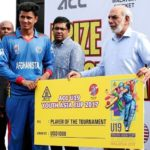 Mujeeb Zadran-Player of the ACC U19 Youth Asia Cup 2017 tournament
