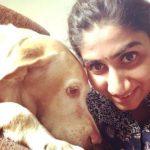 Nikita Vanjara loves dogs