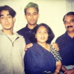 Nucleya With His Family