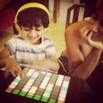 Nucleya with his son Guri