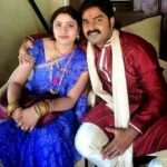 Pawan Singh with his ex-wife Neelam Singh