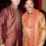 Prashant Chopra With His Father Shiv Chopra