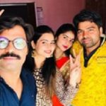 Preeti Kuntal with her brothers and sister-in-law