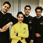 Priyanka Bora as a cabin crew member