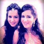 Radhika Bangia with her sister