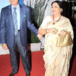 Raj Babbar with his wife Nadira Babbar