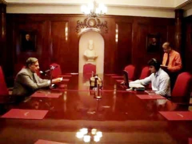 Ratan Tata Bombay House Inside